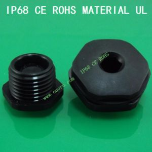Plastic Hexagon End Plug Cap NPT Type, Nylon6, Waterproof, Dustproof, IP68, CE, RoHS