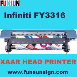 Fy3316b Xaar Solvent Printer (Solvent Plotter with Xaar Head) pictures & photos