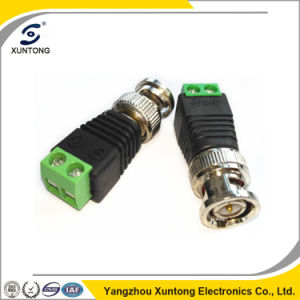 BNC Male to DC Male Balun Adapter pictures & photos