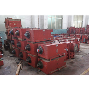 Double Screw Extruder Gearbox (Transmission Case) pictures & photos