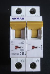 2 Pole 10a 16a 20a 800v Direct Current Miniature Circuit Breaker pictures & photos
