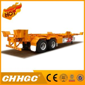 Hot Sale 40FT 2axle Skeletal Container Semi-Trailer pictures & photos