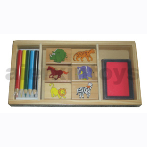 Wooden Stamp Box (80647) pictures & photos