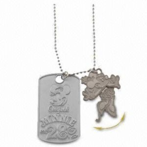 Dog Tag With Moving Parts(DT-06914-1)