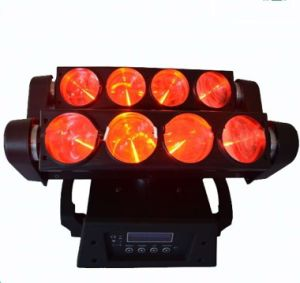 8 PCS * 10W RGBW 4in1 LED Spider Light Moving Head Light pictures & photos