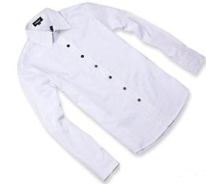 Men′s White Shirt