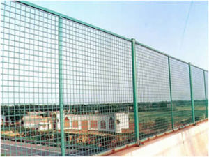PVC Coated Wire Fences for Bridge