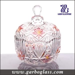 Colored Glass Candy Jar (GB1824MI/P2) pictures & photos