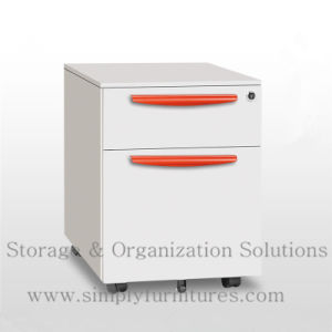 Office Furniture Mobile Steel File Cabinets Steelblue (SI6-LCF2SB) pictures & photos