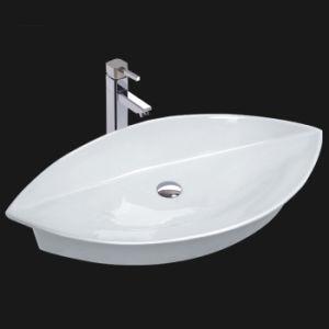 Unique Porcelain Bathroom Vessel Sink (6034) pictures & photos