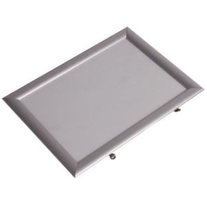 Aluminum 25mm Mitred Corner Wall Mounting Silver Oxidate Poster Snap Photo Frame