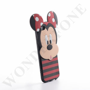 New Style Mickey 3D PC+TPU+Silicone Case for iPhone 6s/6s Plus pictures & photos