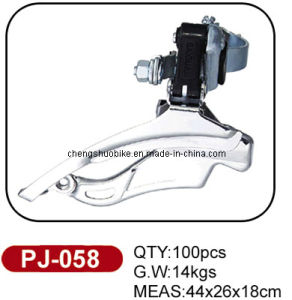 First-Class Quality Bicycle Front Derailleur Pj-058 pictures & photos