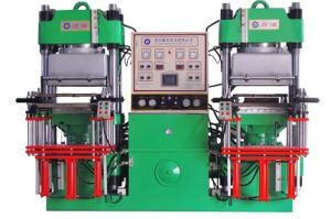Silicone Rubber Vacuum Hot Press Forming Machine pictures & photos