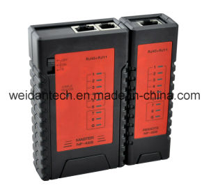Network Cable Tester for Rj11/RJ45 pictures & photos