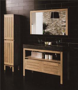 Plywood PVC Solid Wood Sanitary Ware Bathroom Cabinet