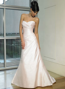 Sweatheart Taffeta Wedding Dress and Wedding Gown (maginf017)