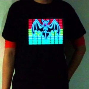 Animated LED EL GIF T Shirts pictures & photos