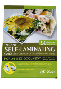 Instant Self-Laminating Card for A4 Size (F-APET) pictures & photos