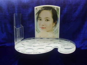 Cosmetic Beauty Skincare Display Stand (C001)