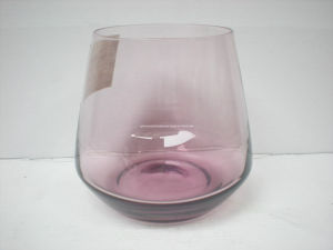 Solid Color Hand-Made Glass Cup (B-GT01) pictures & photos