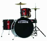 Durm Set (Inc Bass/Snare Drum, Floor/Tom Tom) (GHP4-312-01B)
