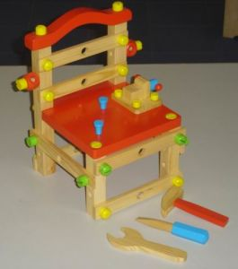 Wooden Toys - Chair-Bench (ZYYB-0151)