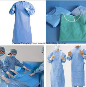 Spunbond Nonwoven Fabric for Surgical Gowns, Drape pictures & photos