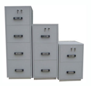 UL Certified Fire Resistant Filing Cabinet, Metal Cabinet pictures & photos