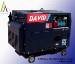 Silent Diesel Generator (Dark Blue)