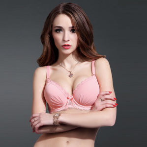 Fashion Bra with Lace / Solid Color Lingerie (TSE002VN)