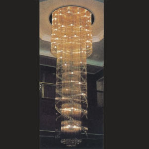 Luxury K9 Crystal Hotel Project Pendant Light pictures & photos