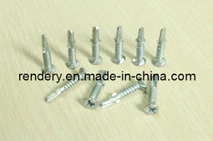 Bee Wing Csk Head Self Drilling Screw with Ribs pictures & photos