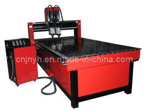 Wood Carving Machine with Dual Head