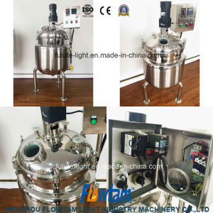 Sanitary Stainless Steel Electric Emulsification Mixing Tank Mixing Machine pictures & photos