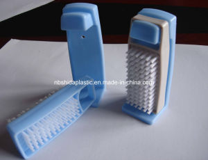 Two-Sided Nail Brush With Hanger (SD9652)