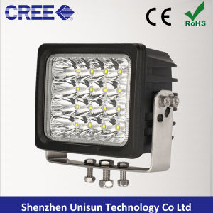 6inch 9-32V 100W 8000lm Auxiliary CREE LED 4X4 Work Light pictures & photos