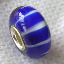 Silver-Plated Copper Core Glass Beads