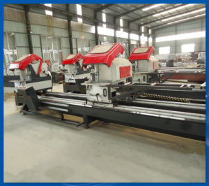 Double-Head Precision Cutting Saw Aluminum Door Window Machine (LJZB-500*4200) pictures & photos