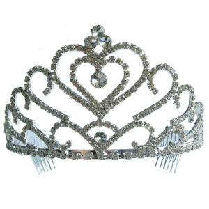 Crown-Shaped Hair Ornament, Hair Accessories (H776)
