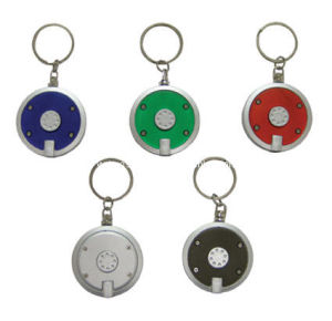 Plastic Key Tag With LED Light (ZS-960)