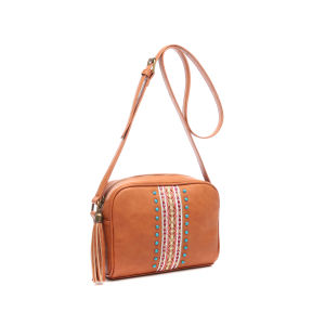 Vintage Style Tassel Embroidery Women Messenger Bag (MBNO043007) pictures & photos