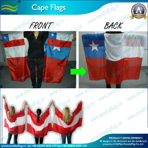 Fan Polyester Body Flag, Cape Flag (NF07F02010) pictures & photos