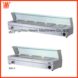 Counter Top Stainless Steel Electric Bain Marie pictures & photos