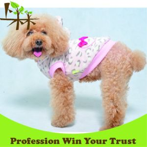 Leopard Dog Coat Coral Fleece Pet Winter Clothes pictures & photos