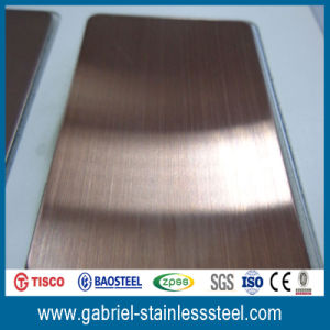 Decorative Color Acrylic Stainless Steel Sheet pictures & photos