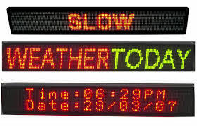 Electronic Outdoor Programmable LED Message Sign pictures & photos