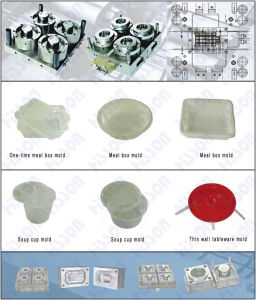 Thin Wall Meal Box Injection Mould pictures & photos