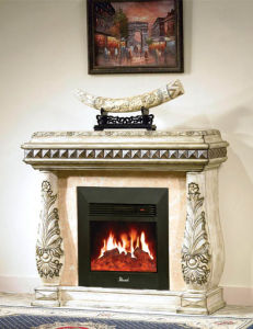 Electric Fireplace for Home Decoration and Heating (501) pictures & photos