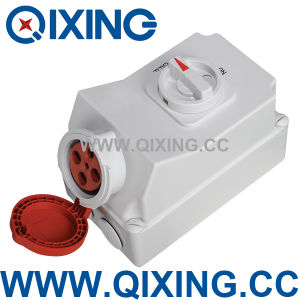 Cee/IEC IP44 Industrial Sockets Switch and Interlock (QX5956) pictures & photos